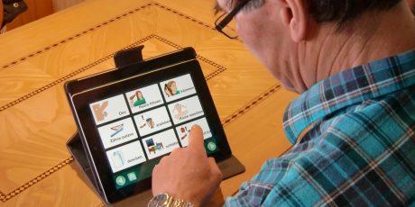 Kommunikationshilfe: iPad App